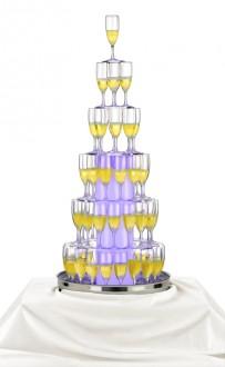 Cascade à champagne 73 flûtes - Devis sur Techni-Contact.com - 1