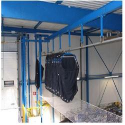 Convoyeur aérien pour blanchisserie 70 Kg - Devis sur Techni-Contact.com - 1