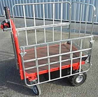 Chariot à ridelle industriel - Devis sur Techni-Contact.com - 1