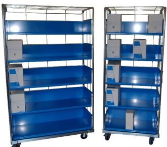 Chariots pour boîtes à archives - Devis sur Techni-Contact.com - 2