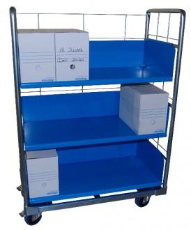 Chariots pour boîtes à archives - Devis sur Techni-Contact.com - 3