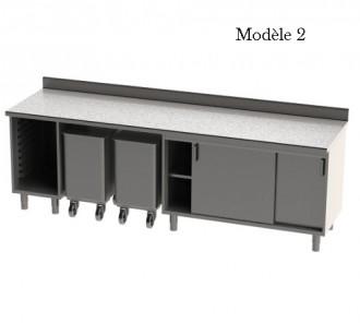 Meuble bas cuisine composé - Devis sur Techni-Contact.com - 2