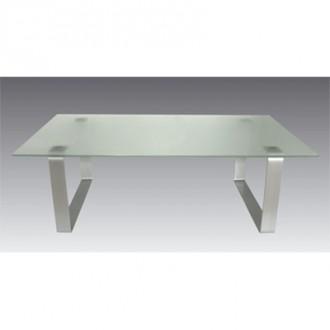 Table basse en verre salon d'accueil - Devis sur Techni-Contact.com - 1