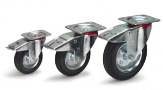Roues pivotantes avec freins - Devis sur Techni-Contact.com - 1