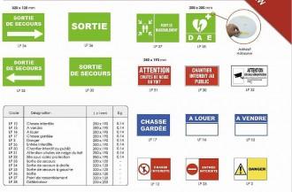 Panneau signalétique rectangulaire - Devis sur Techni-Contact.com - 4