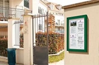 Panneau d'affichage mural extérieur - Devis sur Techni-Contact.com - 1