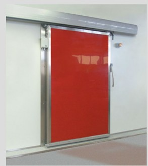 Porte isotherme coulissante pour chambre froide - Devis sur Techni-Contact.com - 1