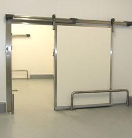 Porte isotherme coulissante pour chambre froide - Devis sur Techni-Contact.com - 2