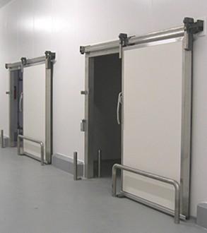 Porte isotherme coulissante pour chambre froide - Devis sur Techni-Contact.com - 4