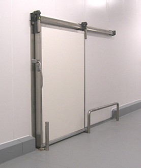 Porte isotherme coulissante pour chambre froide - Devis sur Techni-Contact.com - 6