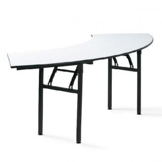 Table demi-lune pliante de réunion - Devis sur Techni-Contact.com - 1