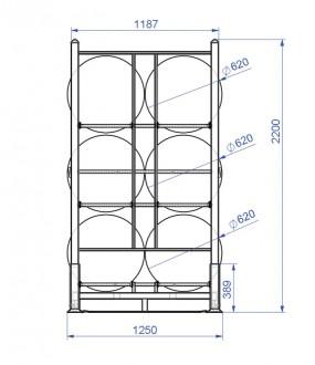 Rack à pneus 1000 Kg - Devis sur Techni-Contact.com - 3