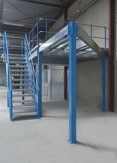 Plateforme mezzanine de stockage - Devis sur Techni-Contact.com - 1