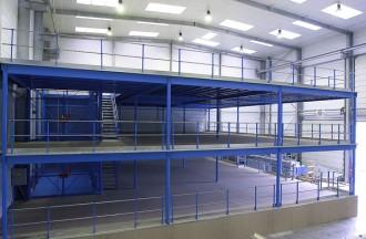 Plateforme mezzanine de stockage - Devis sur Techni-Contact.com - 2