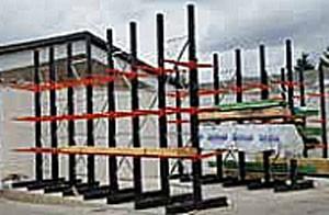 Rayonnage cantilever pour charges longues - Devis sur Techni-Contact.com - 1