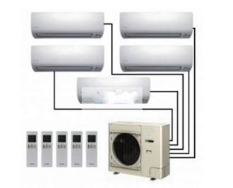 Climatiseur cinq split - Devis sur Techni-Contact.com - 1
