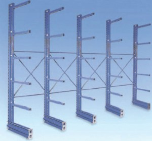 Rayonnage cantilever pour charges lourdes - Devis sur Techni-Contact.com - 1