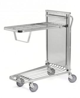 Chariot à panier rabattable - Devis sur Techni-Contact.com - 3