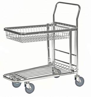 Chariot à panier rabattable - Devis sur Techni-Contact.com - 4
