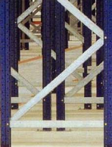 Rayonnage à palettes en feuillard d'acier - Devis sur Techni-Contact.com - 6