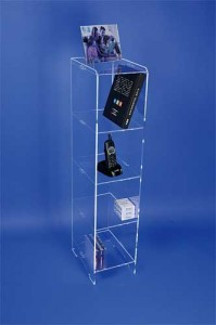 Etagère plexiglas 4 tablettes - Devis sur Techni-Contact.com - 2