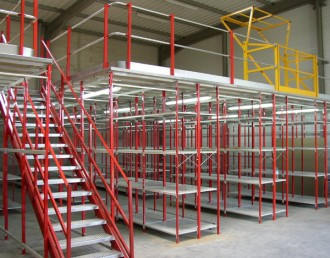 Mezzanine sur rayonnage - Devis sur Techni-Contact.com - 3
