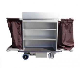 Chariot de service nettoyage pour hôtel motorisé - Devis sur Techni-Contact.com - 2