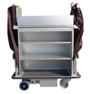 Chariot de service nettoyage pour hôtel motorisé - Devis sur Techni-Contact.com - 3