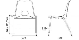 Chaise empilable pour enfants - Devis sur Techni-Contact.com - 2