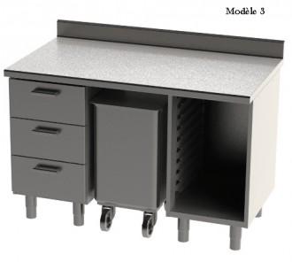 Meuble bas de cuisine composé - Devis sur Techni-Contact.com - 3
