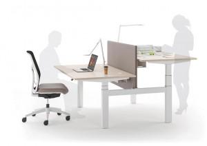 Bureau professionnel à hauteur réglable - Devis sur Techni-Contact.com - 1
