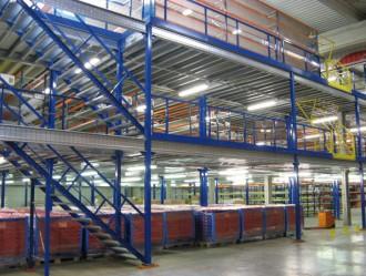 Plateforme de stockage 4000 kg par m² - Devis sur Techni-Contact.com - 4