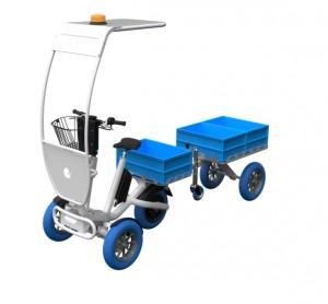 Tricycle électrique avec remorque  - Devis sur Techni-Contact.com - 1