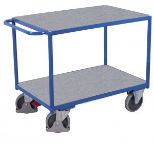 Chariot à plateaux pour charges lourdes - Devis sur Techni-Contact.com - 1