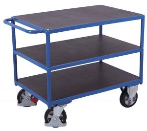 Chariot à plateaux pour charges lourdes - Devis sur Techni-Contact.com - 3
