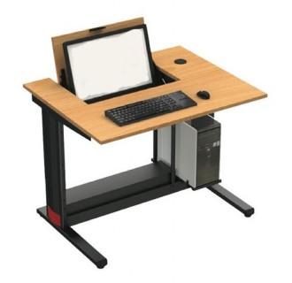 Table informatique avec écran escamotable - Devis sur Techni-Contact.com - 1
