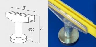 Clip magnétique pour cadre ABS - Devis sur Techni-Contact.com - 1