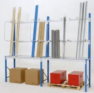 Rayonnage à échelles à boulonner - Devis sur Techni-Contact.com - 1