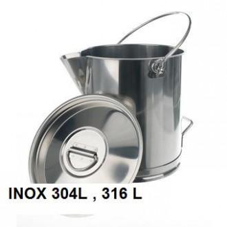 Seau inox agroalimentaire - Devis sur Techni-Contact.com - 3