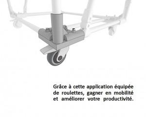 Chariot roll structure en aluminium - Devis sur Techni-Contact.com - 2