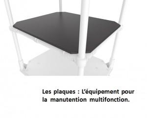 Chariot roll structure en aluminium - Devis sur Techni-Contact.com - 3