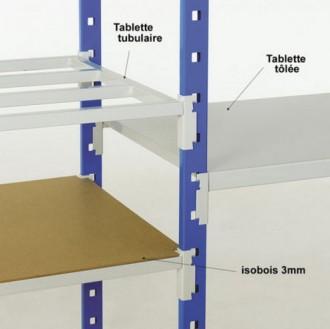 Rayonnage de bureau tubulaire ou tôlé - Devis sur Techni-Contact.com - 3