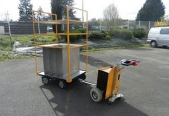 Chariot motorisé électrique - Devis sur Techni-Contact.com - 1