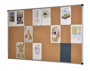 Tableau d'affichage en liège 120 x 200 cm - Devis sur Techni-Contact.com - 2