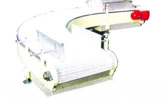 Convoyeur à tapis modulaire en tôle pliée - Devis sur Techni-Contact.com - 1