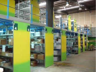 Plateforme industrielle sur rayonnage - Devis sur Techni-Contact.com - 2