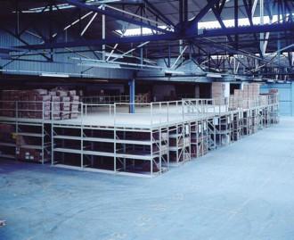 Plateforme industrielle sur rayonnage - Devis sur Techni-Contact.com - 3