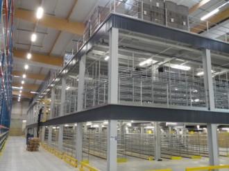 Plateforme mezzanine 2 étages - Devis sur Techni-Contact.com - 1