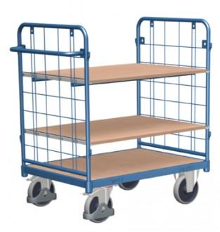 Chariot modulaire à étagères - Devis sur Techni-Contact.com - 1