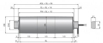 Tambour moteur à courant triphasé - Devis sur Techni-Contact.com - 3
